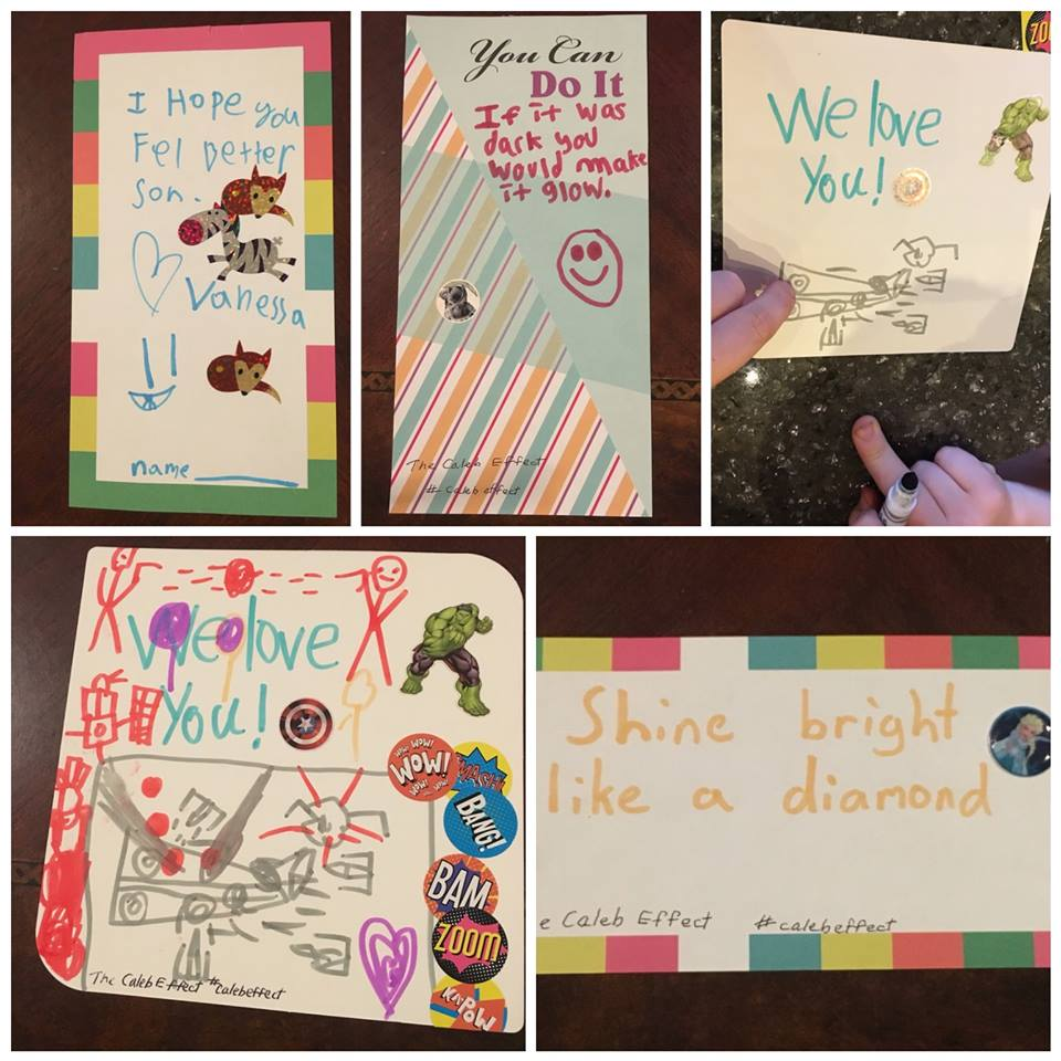 Handwritten notes are part of every Nice on the 9th. These are going to kids fighting cancer in the hospital. Are they adorable or what? — with  Kissy Padron  and  Kate Cormeny Geesaman  at  Main Event .