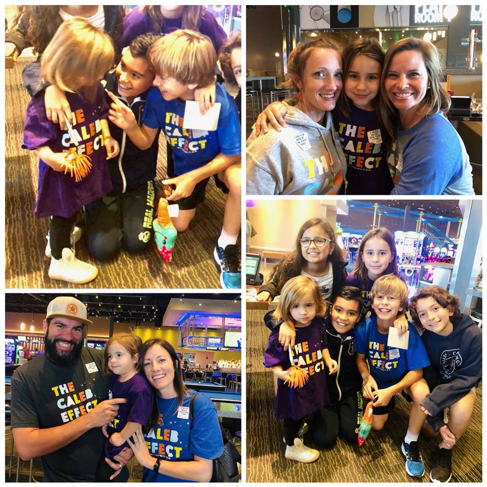 All the kids were being EXTRA nice to their younger friends! — with  Thomas Lundy ,  Adriana Mejia ,  Rose Lindo ,  Bernie Lindo Wile  and  Christine Burk  at  Main Event .