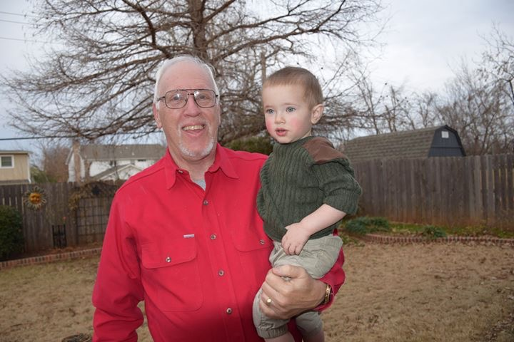 My pretty boy and his Papa.