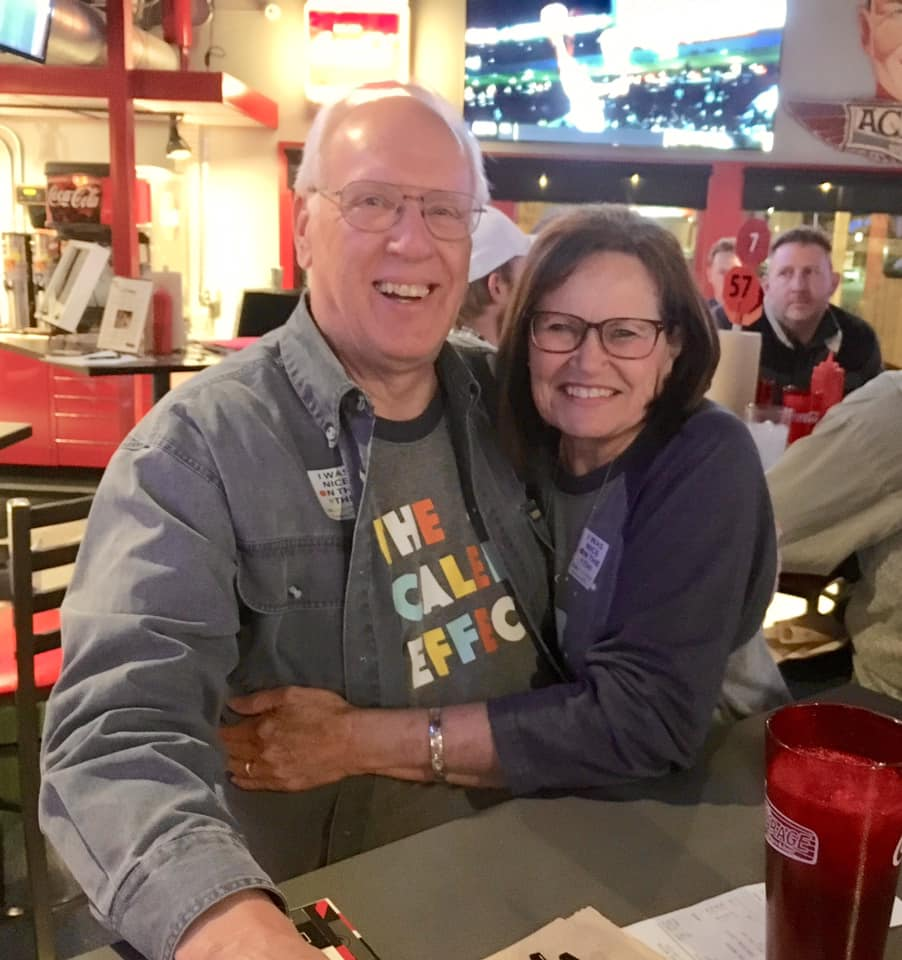 This might be my new favorite picture of Caleb's grandparents! Thank you for all your help! — with Roy Wile  and  Ruby Willoughby Wile .