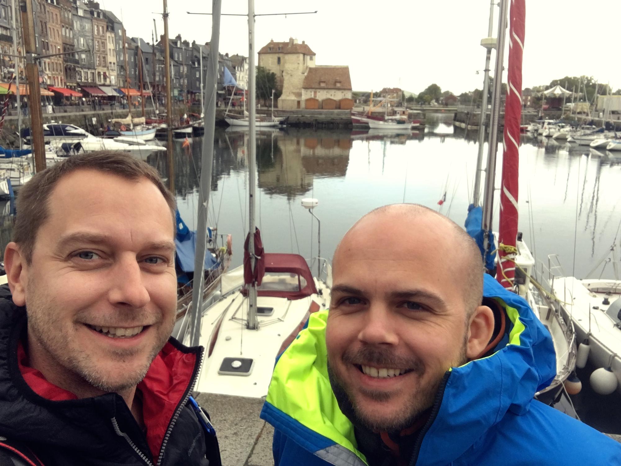 Rob & Dale -  Honfleur, France  - October 2016