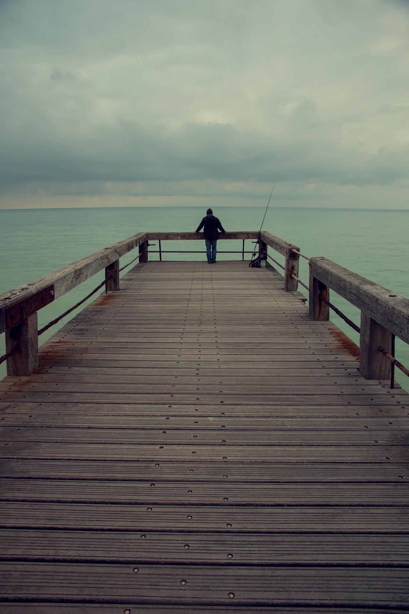 Asymmetrical loner Fisherman