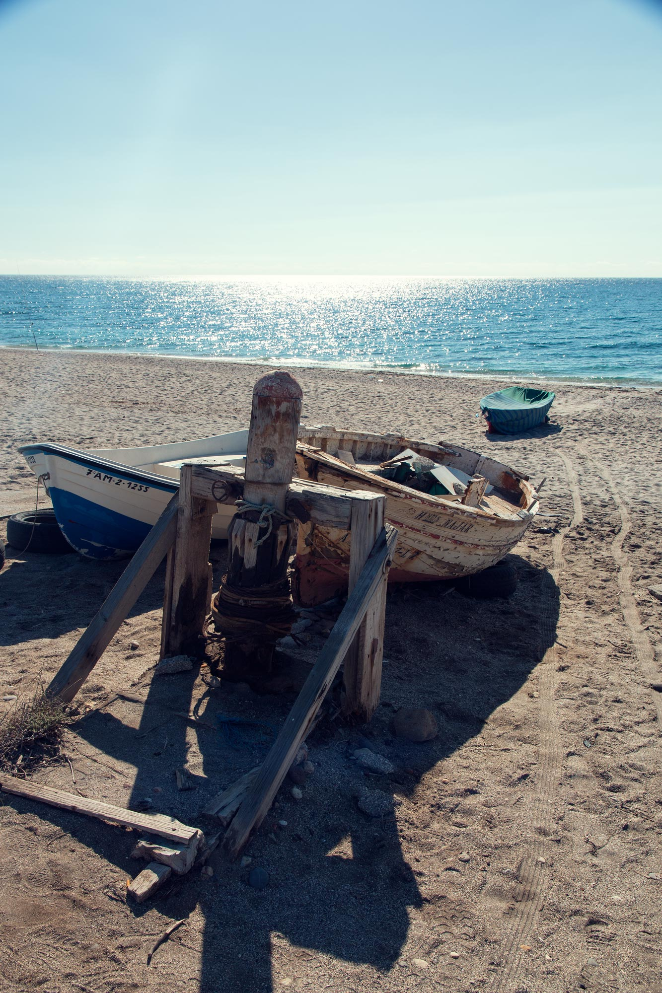 Fishing Boat at Playa De La Fabriquilla.