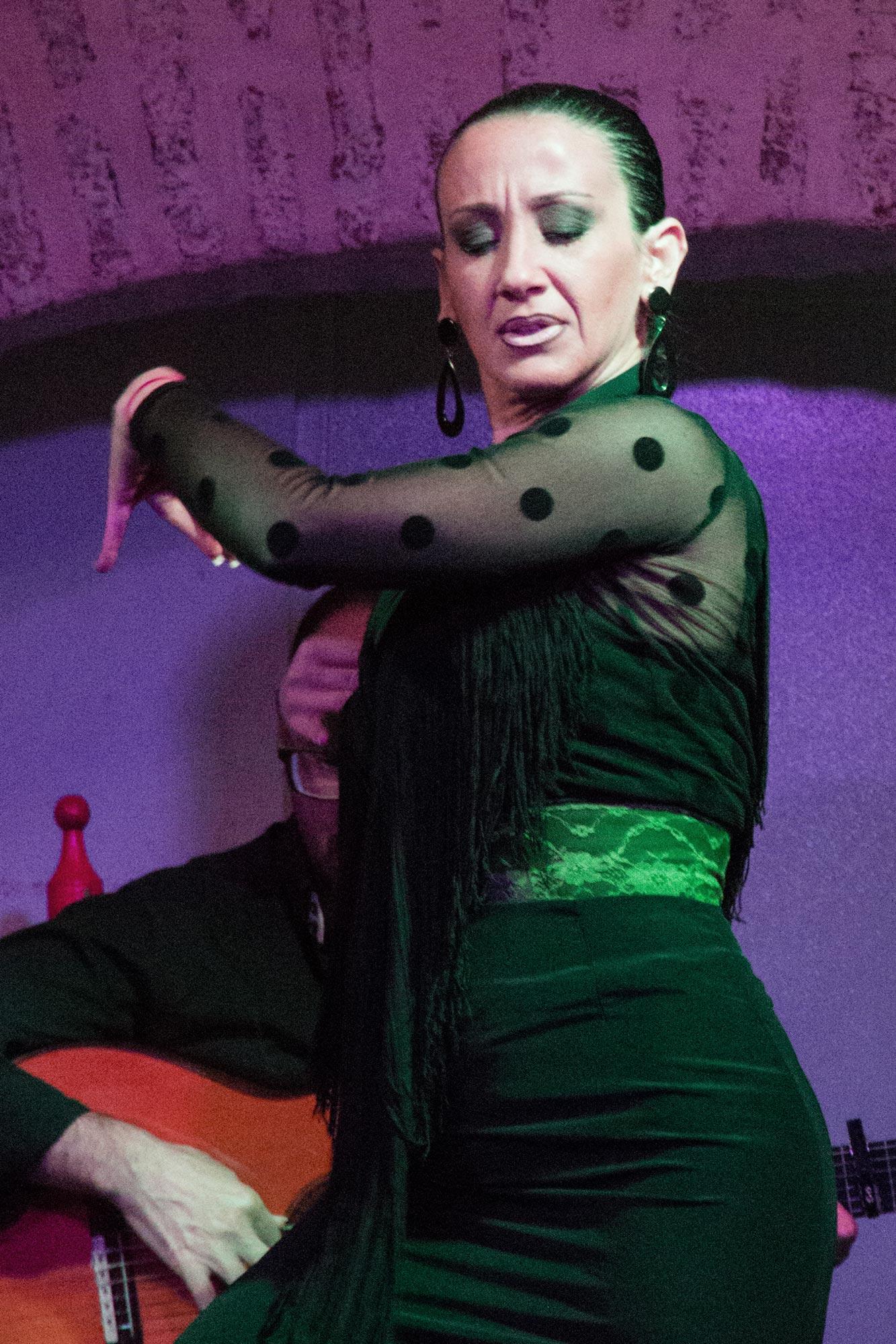 Flamenco. She's fierce.