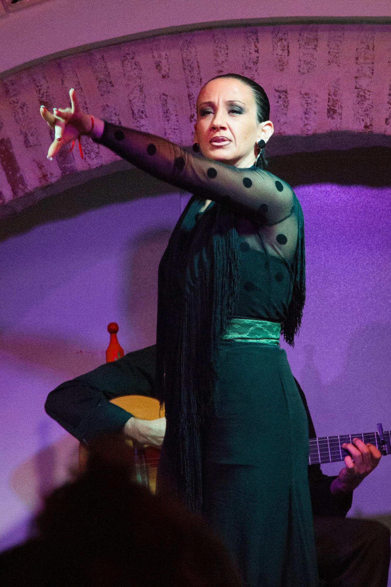 Moody Kathy Griffin dancing Flamenco