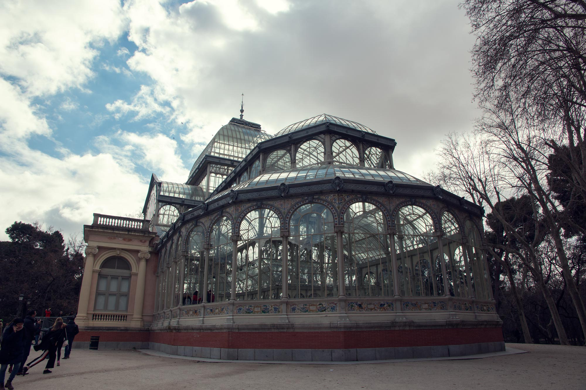 Madrid's Crystal Palace in Buen Retiro Park.