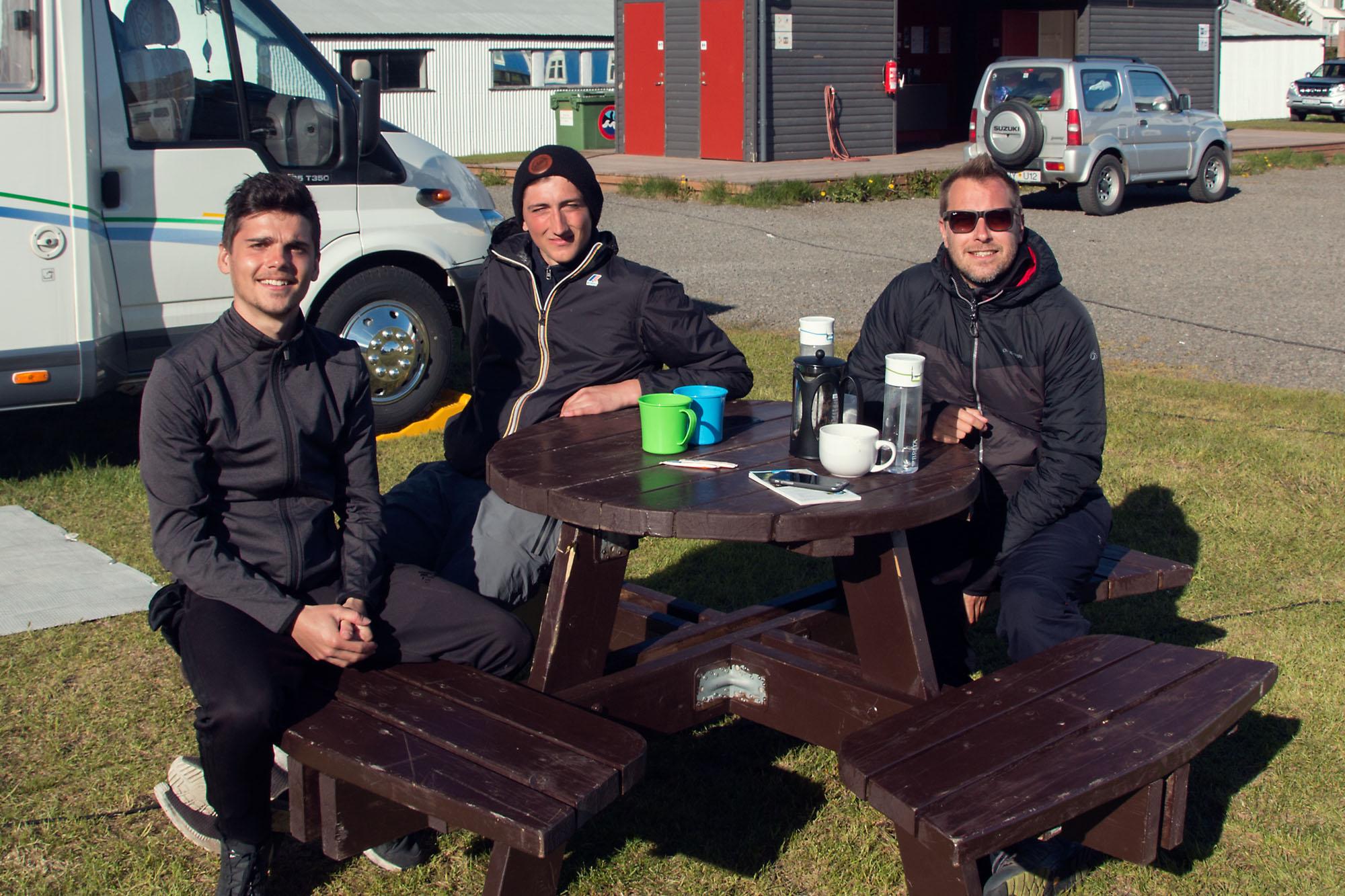 The Canadian Cyclists, Siglufjörður