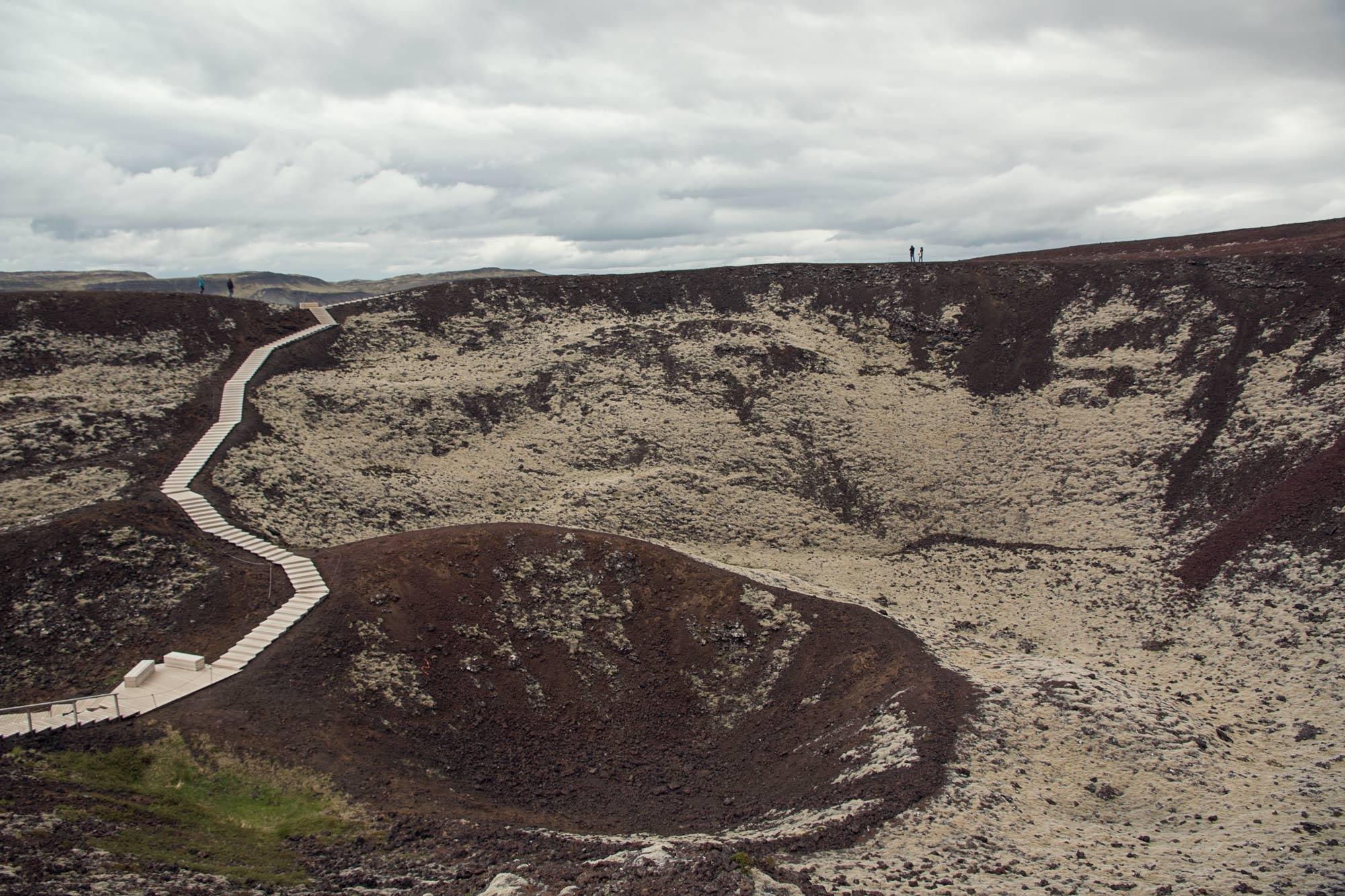 Grábrókarfell Volcano
