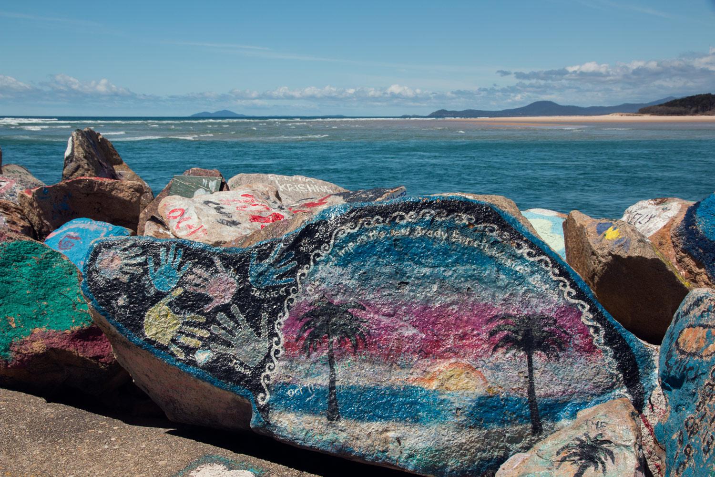 Nambucca Heads Painted Rocks