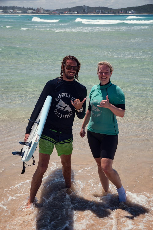 Anna & Sidney in Coolangatta