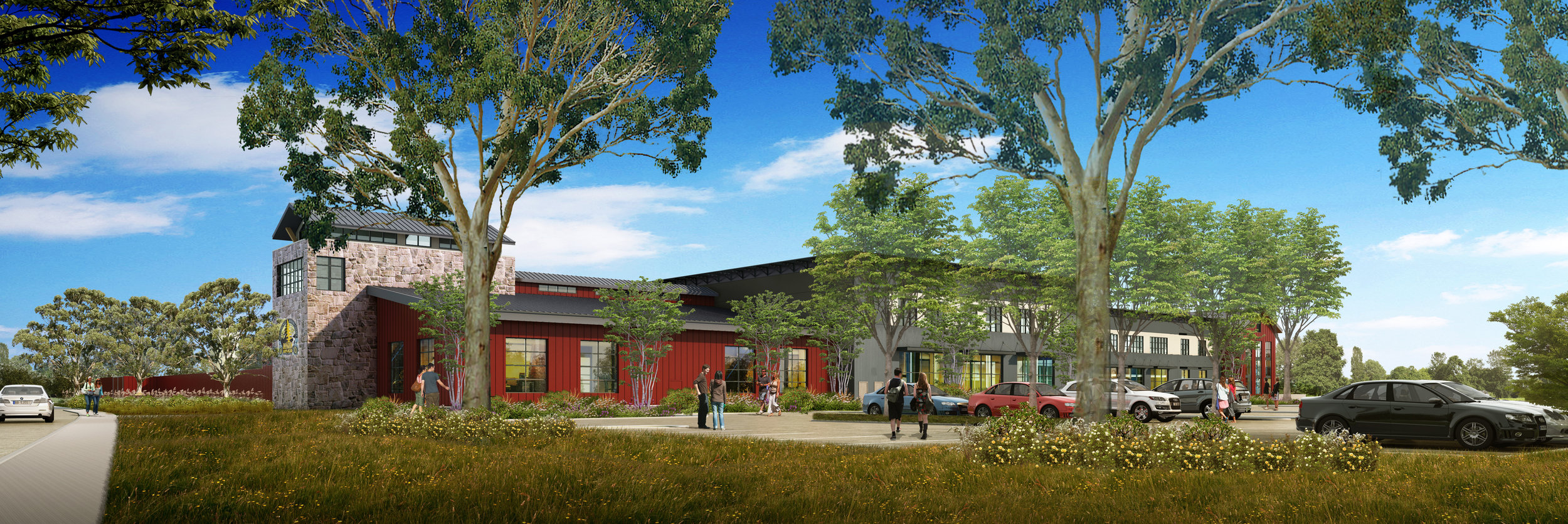 The above site will be transformed into the new Russian River Brewery, a 35,000-barrel brewhouse located in Sonoma County, California. And yes, Pliny the Younger will be released here too!