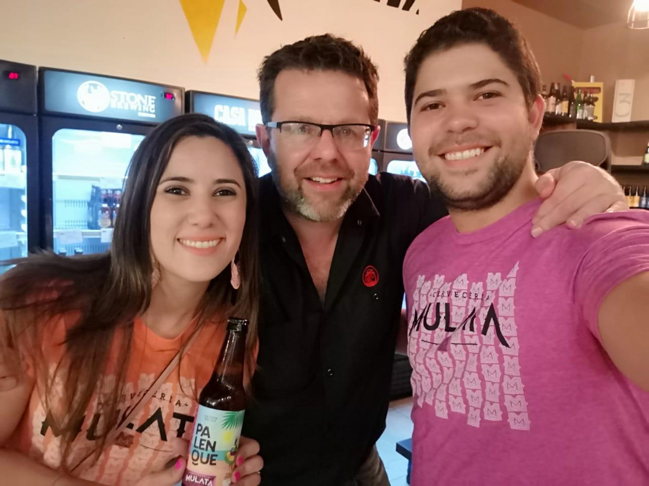 Arturo & Stacey Vallarino from Cerveceria Mulata