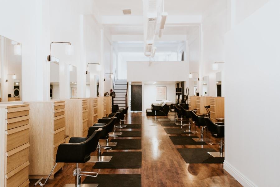 Interior of Collective Hair Salon