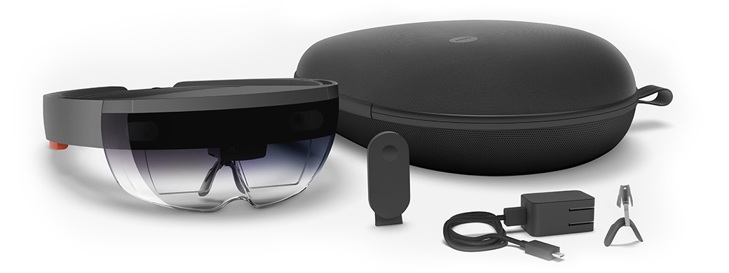 We also develop for the Microsoft HoloLens -