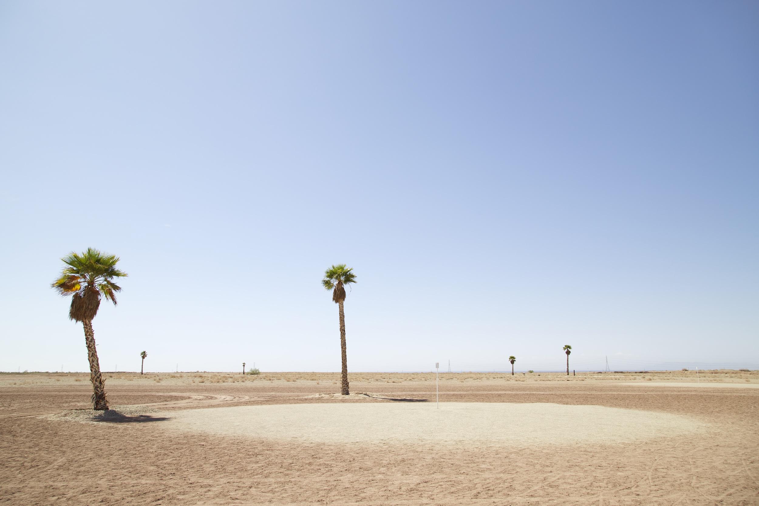 Golf Course, Salton Sea, California , 2014