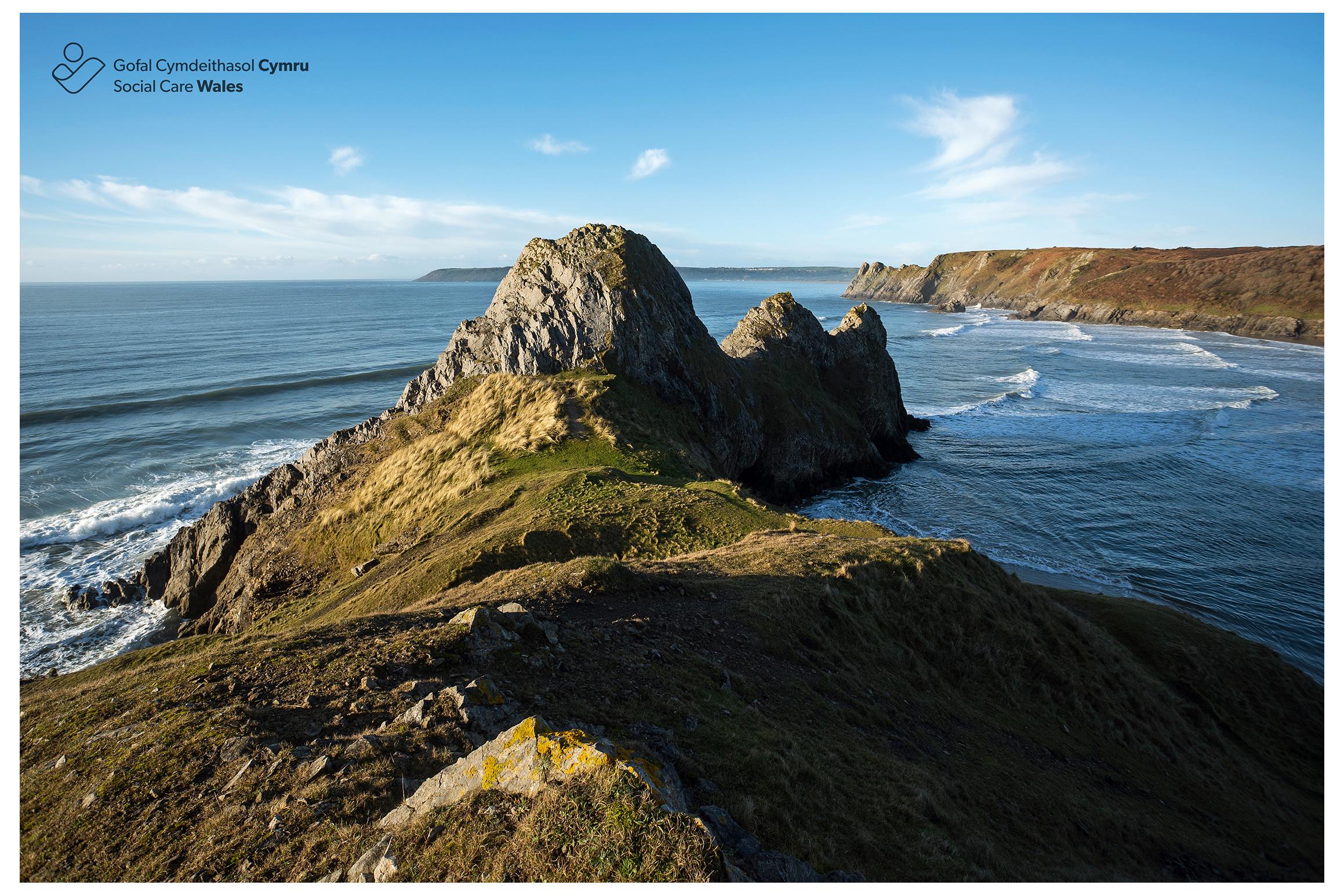 Three Cliffs Bay, Western Bay.jpg