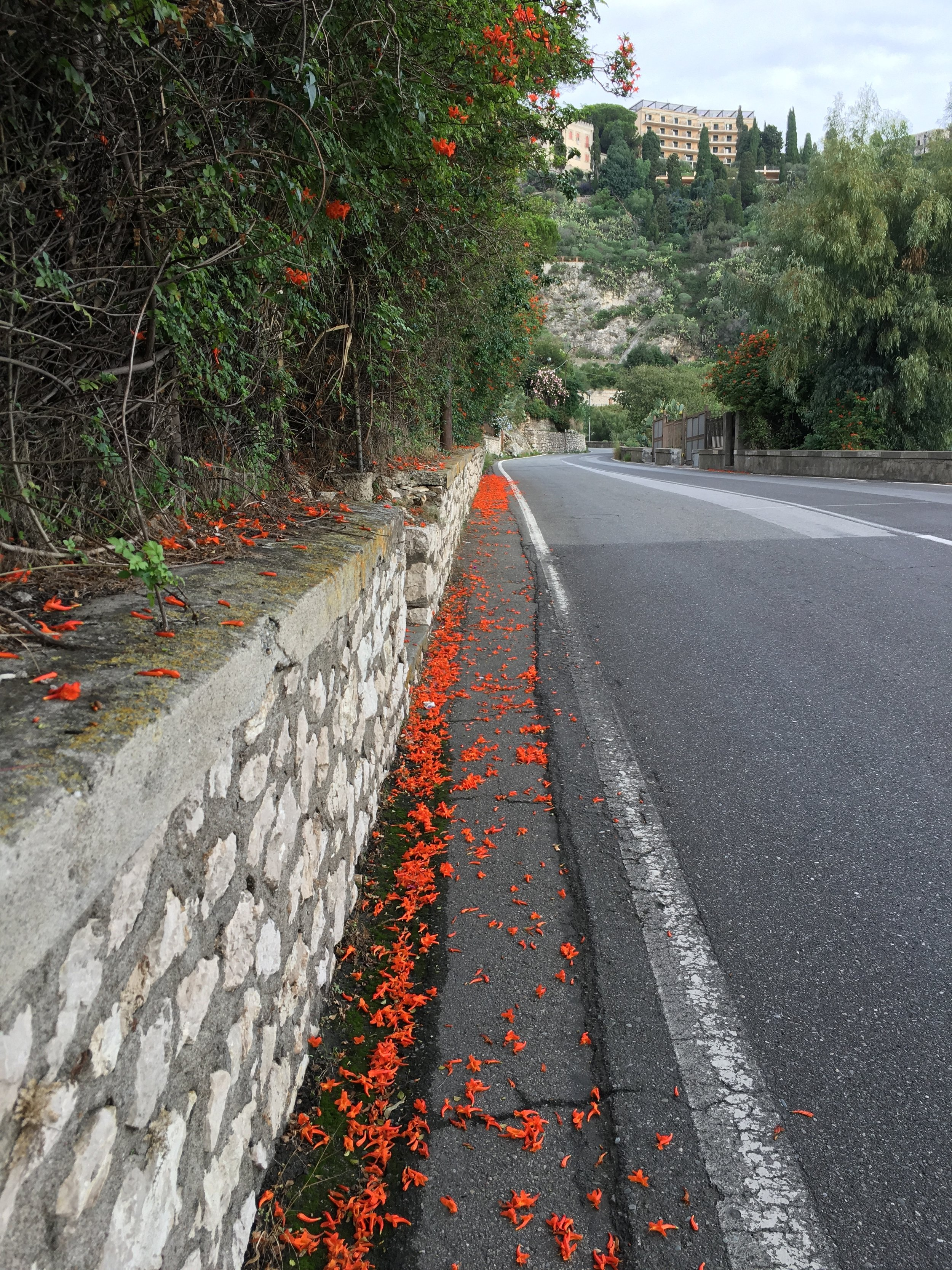 Road to Taormina, Italy, Oct 2016