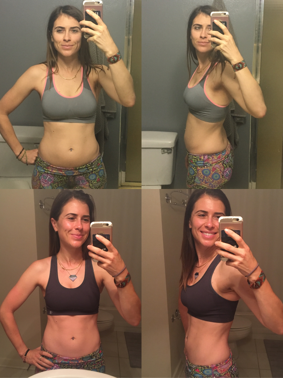 30 Day Results... - 3 pounds lost. A 1-2