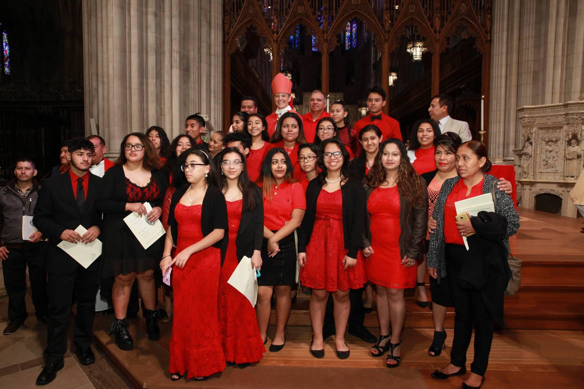 Confirmations at Washington National Cathedral, November 2016