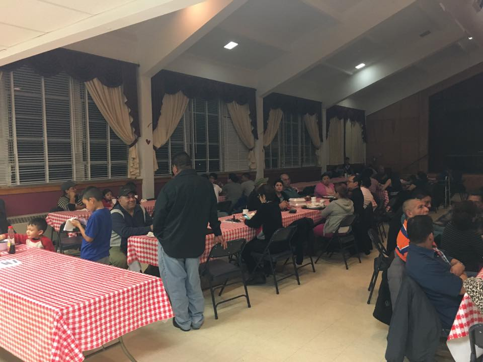Great Turnout for the Pancake Supper