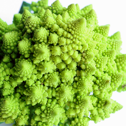 Like a  double rainbow , romanesco is mysteriously beautiful and may just reduce you to tears of joy.