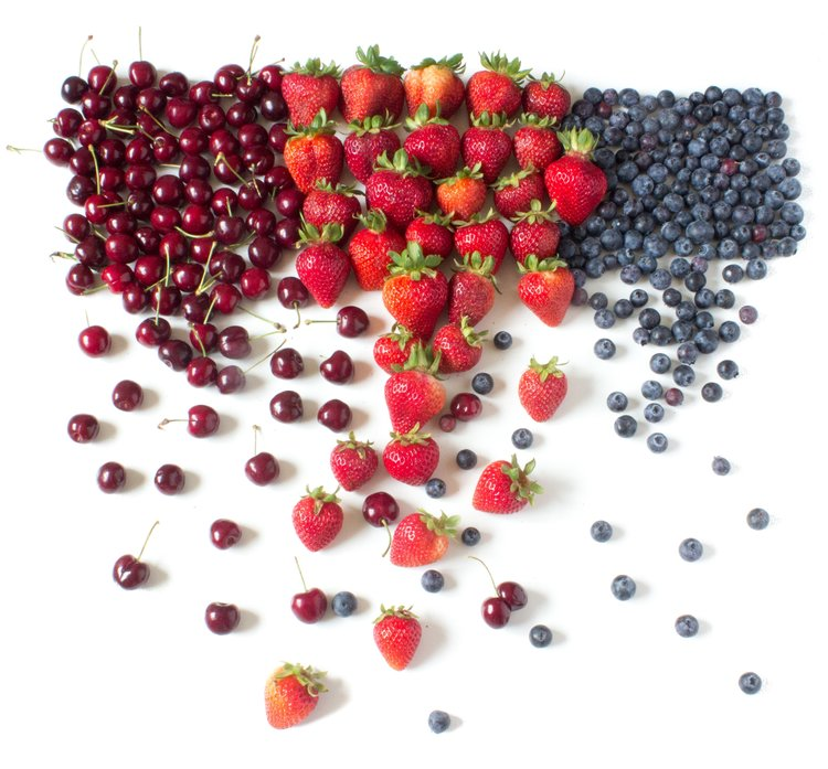 If it actually starts raining berries, we'll be the first to let you know!