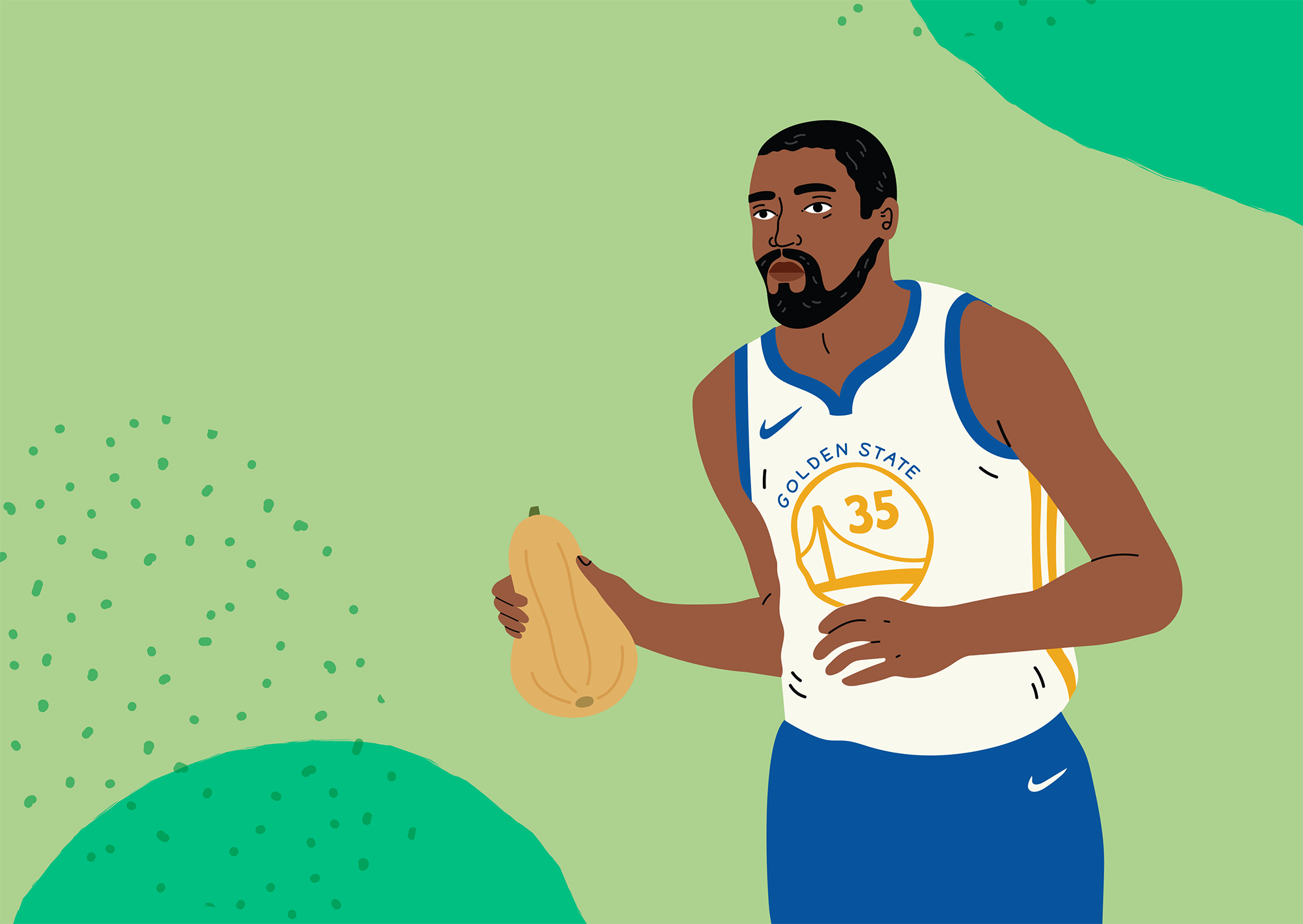 Kevin Durant joins the Imperfect team!