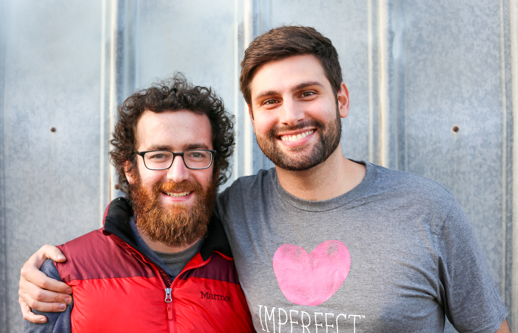 Co-founders Ben Chesler and Ben Simon are deeply grateful for you and your support of Imperfect this holiday season.