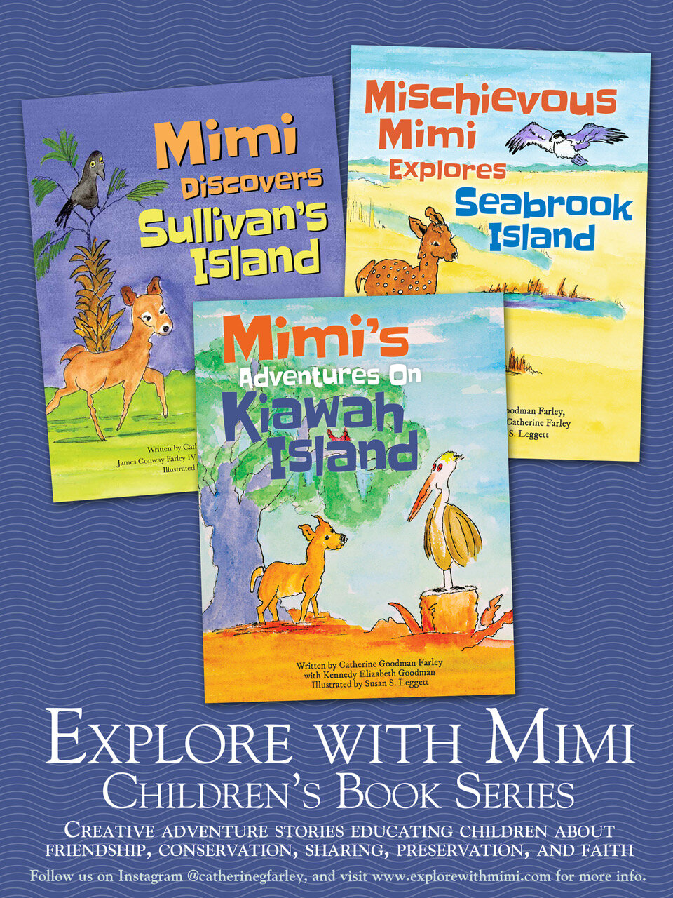 Catherine Farley launches her latest book, Mimi's Adventures on Kiawah Island! -
