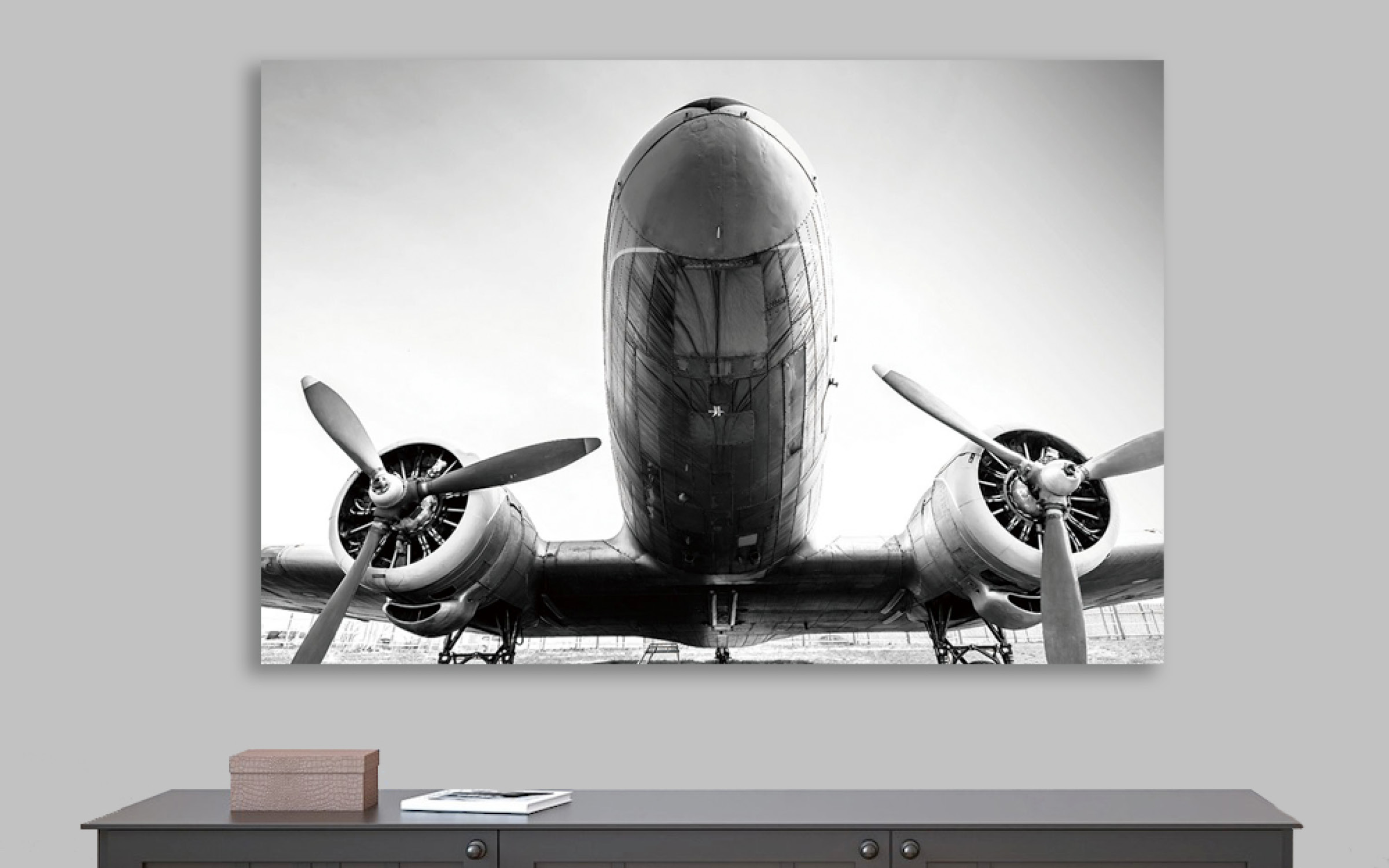 Airplane Modern Artwork Mountain Home | iFurnish, Frisco, CO