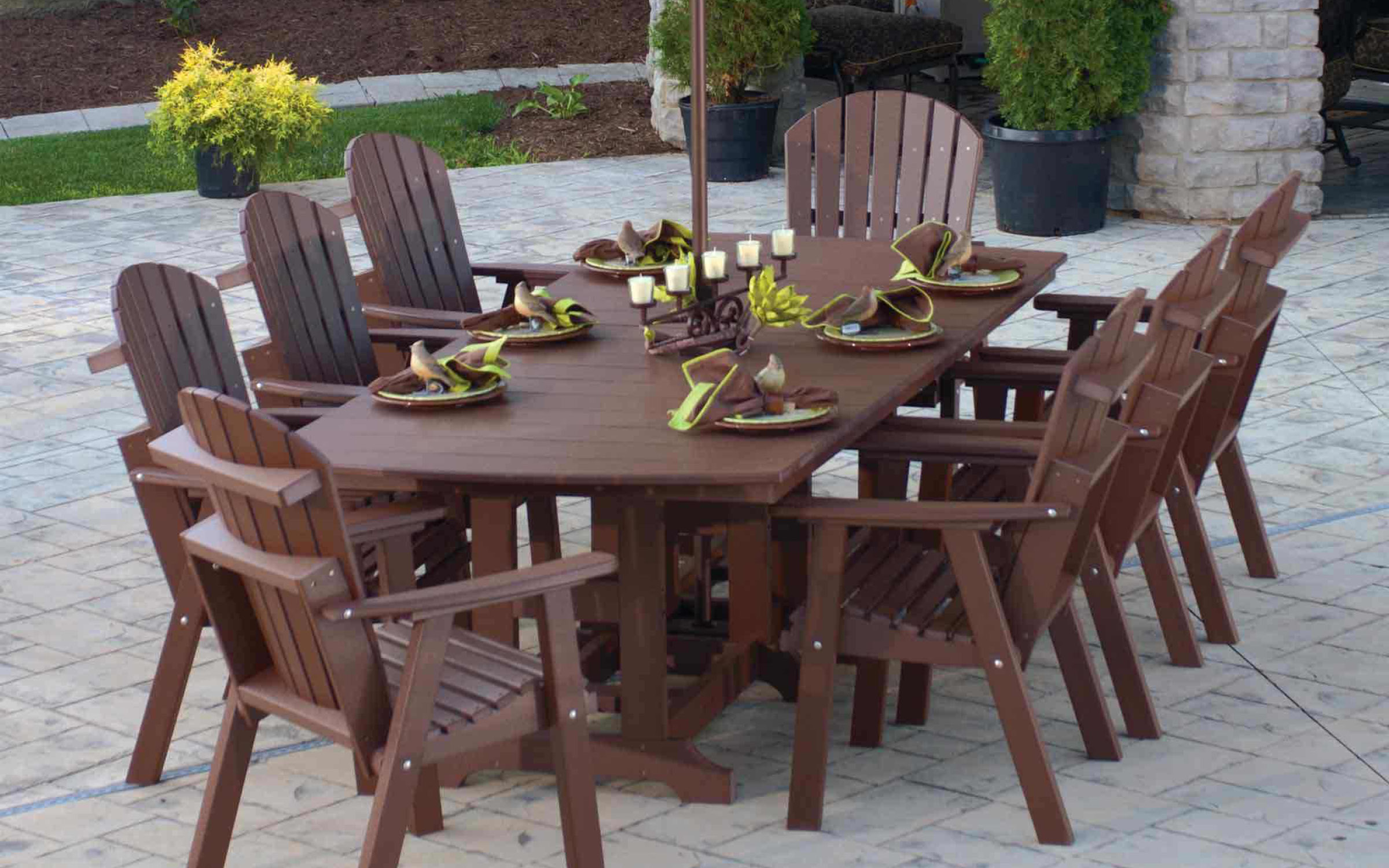 Outdoor Dining Room Set Furniture | iFurnish, Frisco, CO