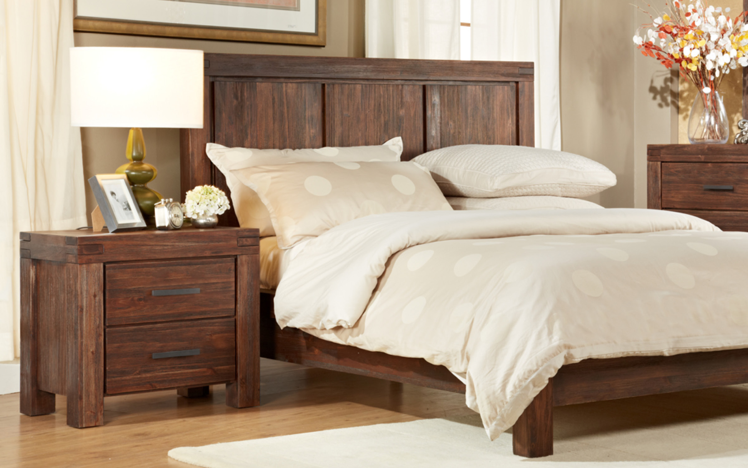 Modus Wood Bedframe | iFurnish, Frisco, CO