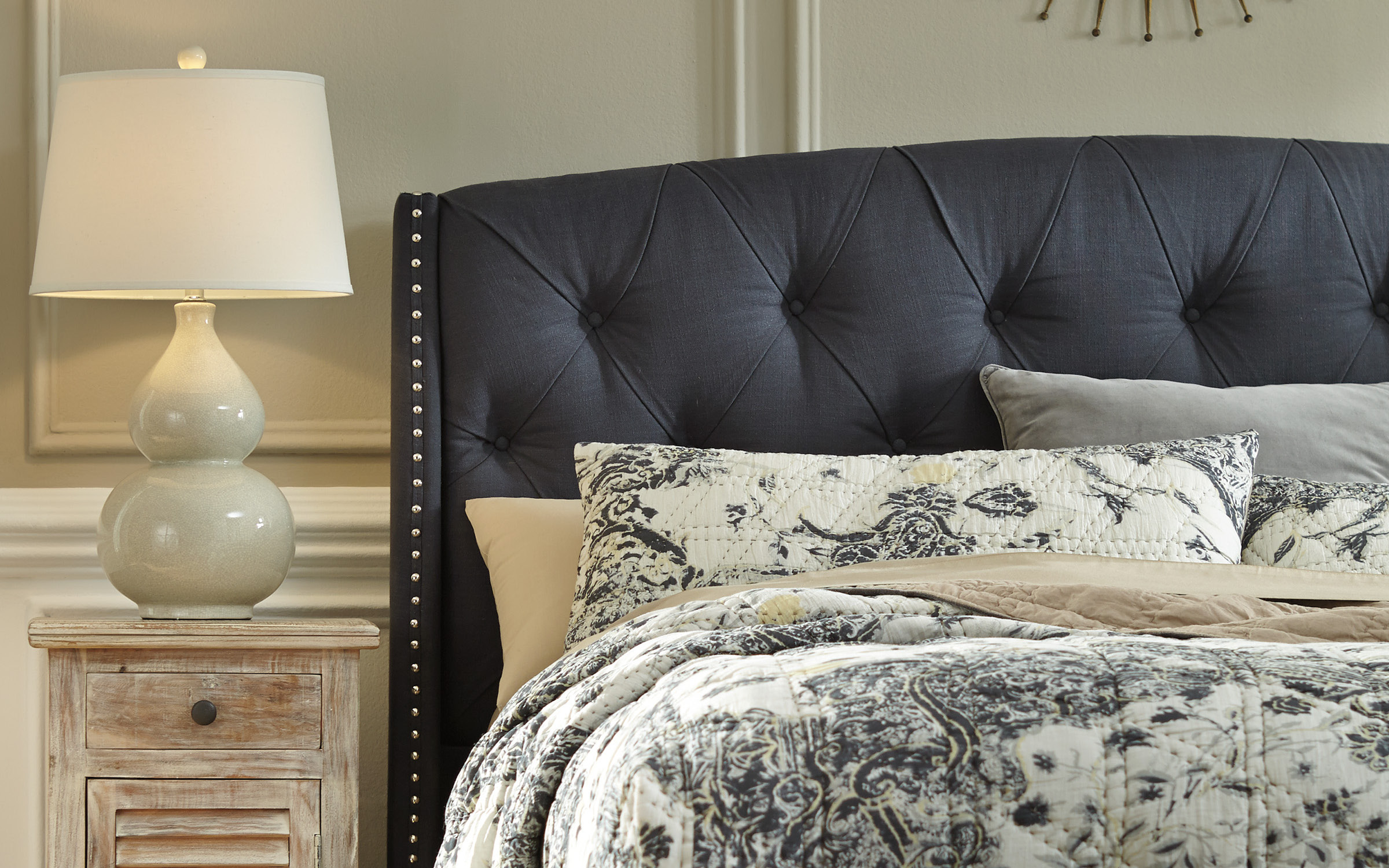 Ashley Tufted Headboard | iFurnish, Frisco, CO