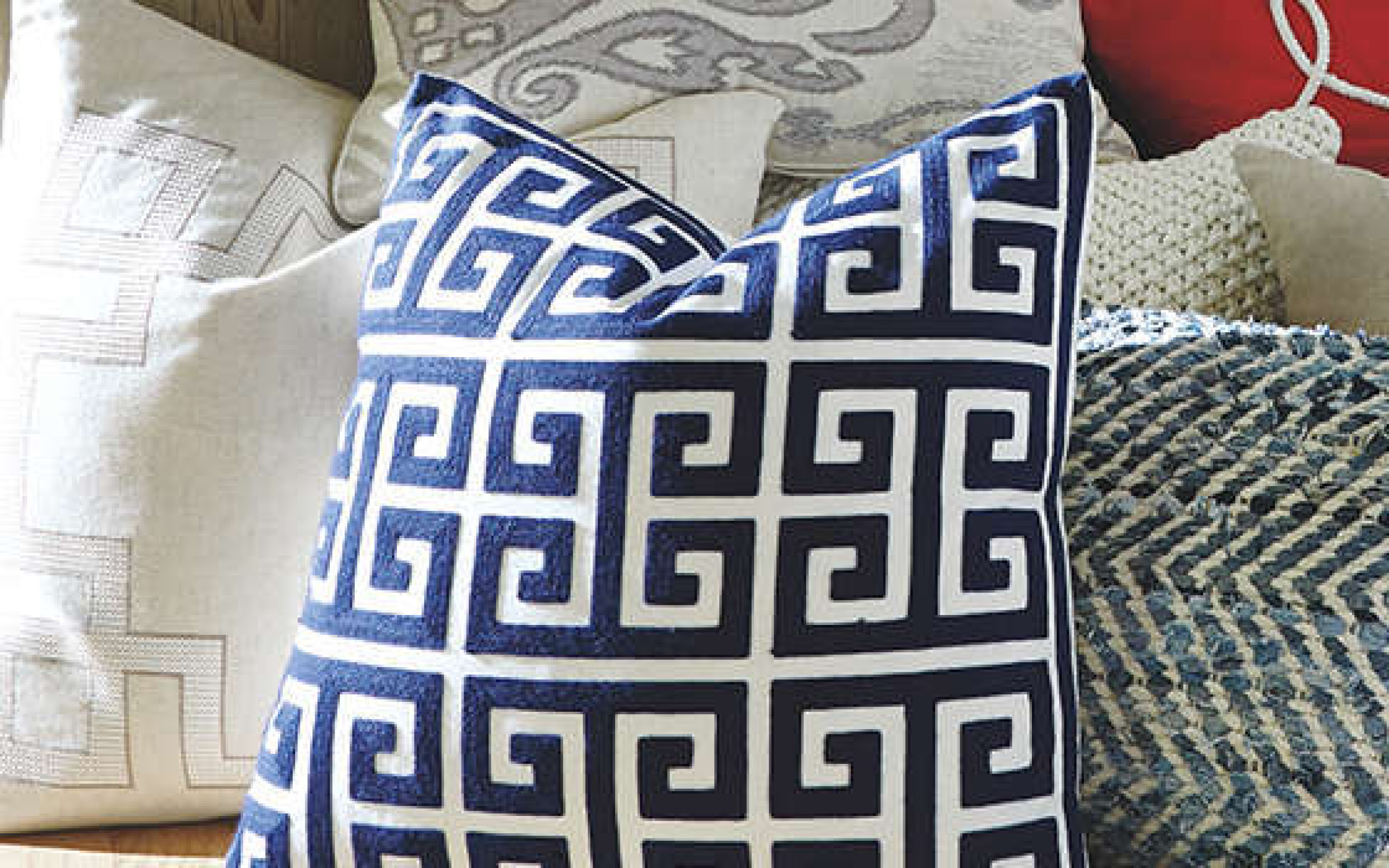 Modern Geometric Pillow Home Accent Decor | iFurnish, Frisco, CO