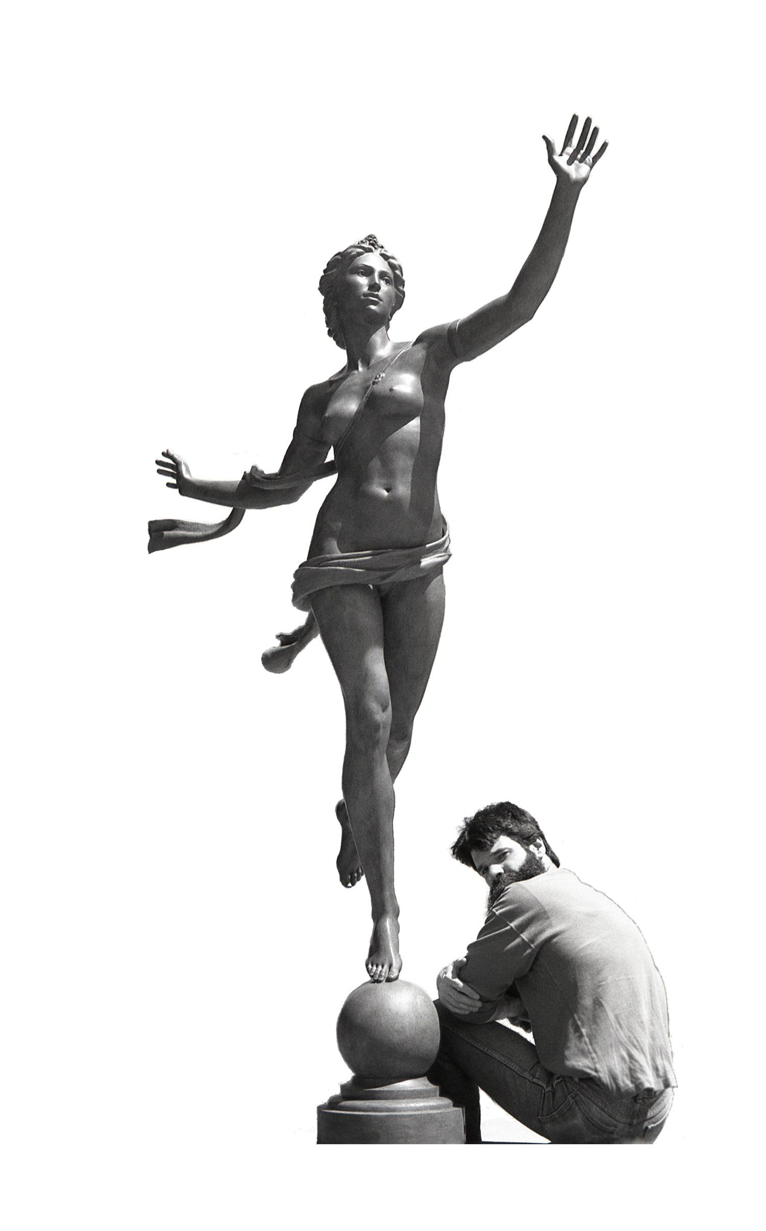 David LaRocca .   sculptor