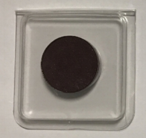 BaeBlu's astoundingly impressive eyeshadow formula featuring CO2 extracts,arrive packaged in the plastic clamshell shown above. Sure, it's plastic, but it's the same container used from the manufacturer to you--this is BaeBlu's way of mitigating excessive waste. Sweet!