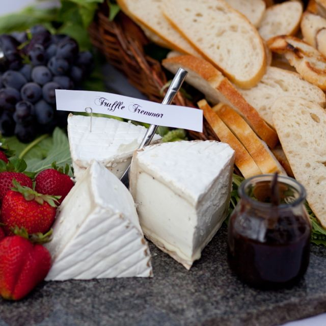 Speciality Cheese and Fresh Fruit Station