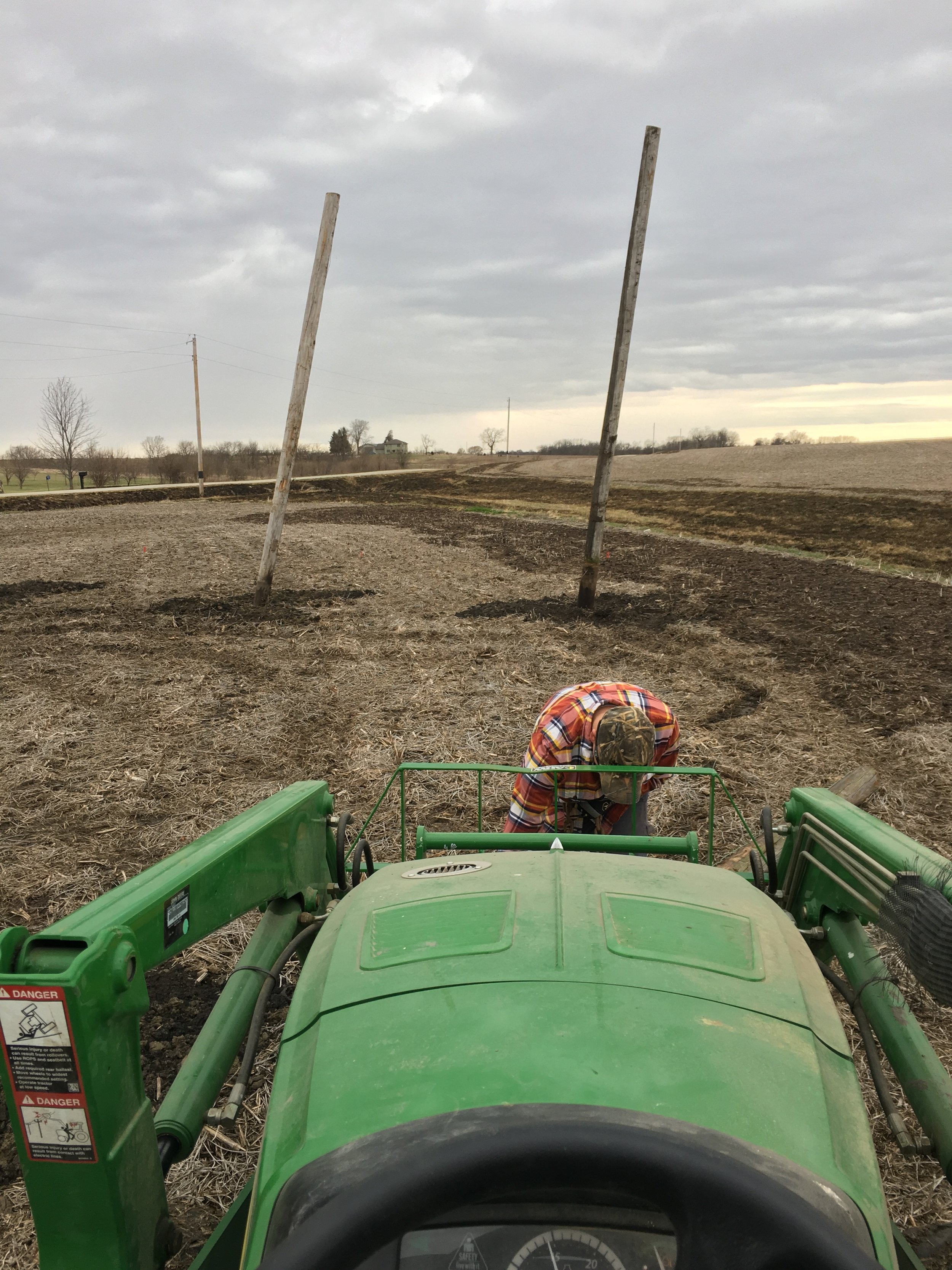 Running the Tractor from the smart end.