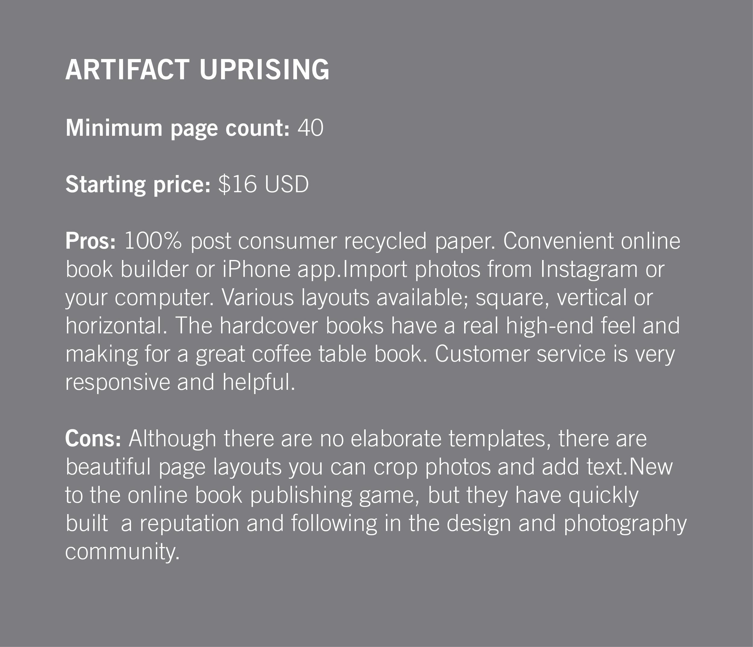 artifactuprising.com