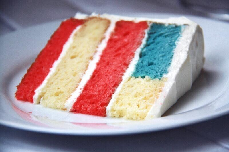 Hidden Flag Cake Table to Soul