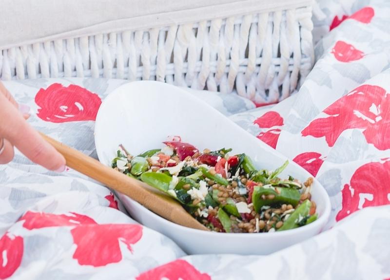 Summer Wheat Berry Salad 2