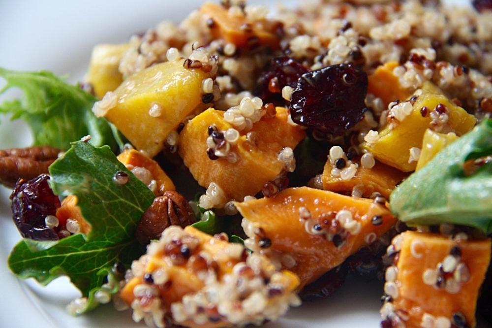 Autumn Quinoa Harvest Bowl