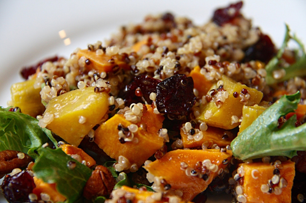 Autumn Quinoa Harvest Bowl_Table to Soul
