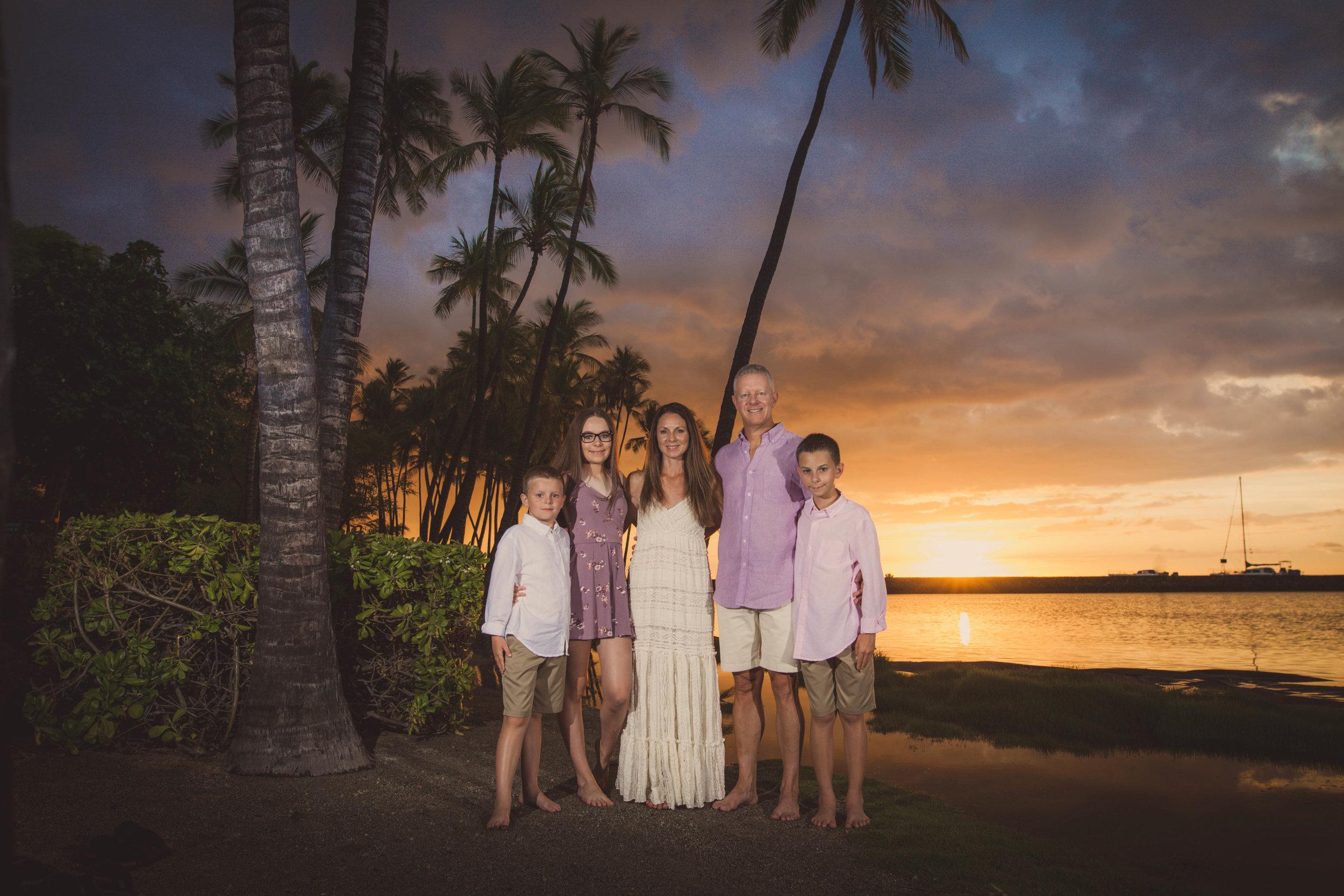 big island hawaii anaehoomalu sunset beach family © kelilina photography 20170727185434.jpg