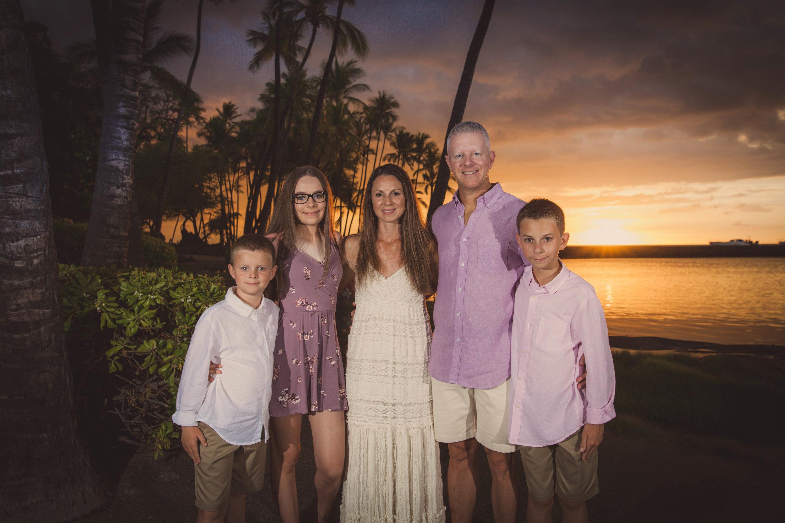 big island hawaii anaehoomalu sunset beach family © kelilina photography 20170727185504.jpg