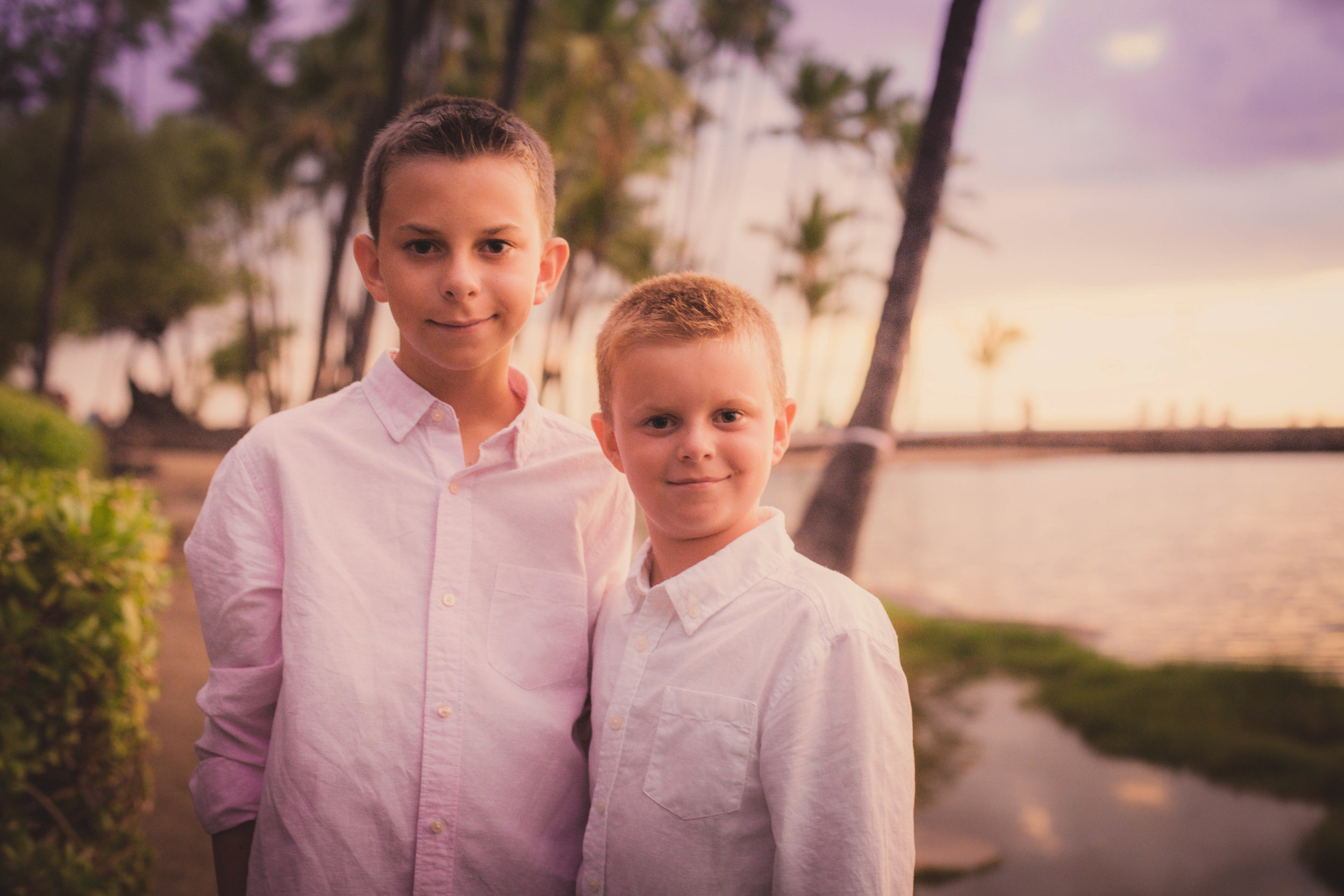 big island hawaii anaehoomalu sunset beach family © kelilina photography 20170727190730.jpg
