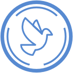 Icon of a dove