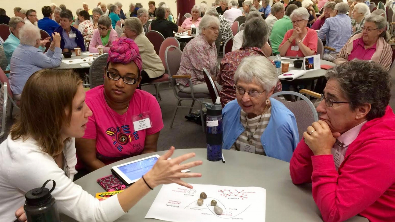 The Sinsinawa Dominican Sisters exploring the implications for their community of how living systems transition