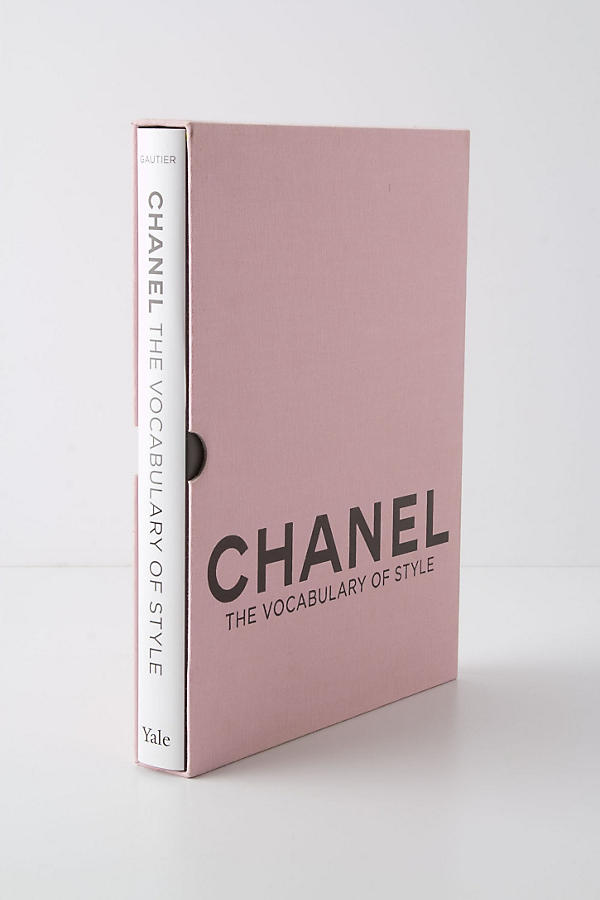 Chanel, The Vocabulary of Style  published by: Yale University Press  Genres: Fashion influence, Statements  Available at: anthropologie.com