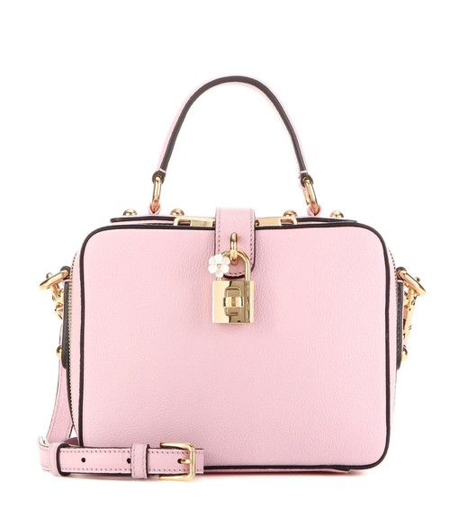 DOLCE+&+GABBANA+Rosaria+leather+shoulder+bag+.jpg